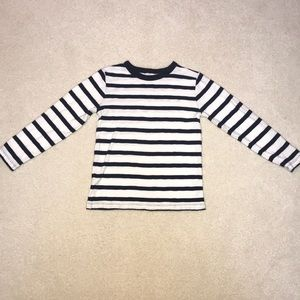 JCrew Navy & White Stripe Top